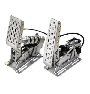 Meca CUP1-2 - Sim Racing Pedals without baseplate